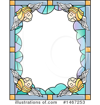 Stained Glass Clipart #1467253 by BNP Design Studio