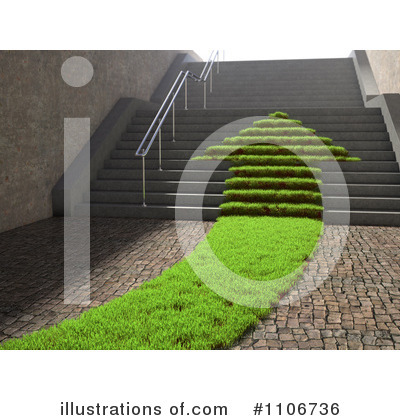 Stairs Clipart #1106736 by Mopic