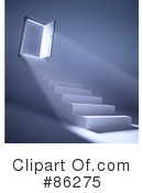 Royalty-Free (RF) Stairs, Clipart Illustration #86275