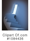 Royalty-Free (RF) Stairway Clipart Illustration #1084436
