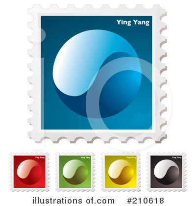Yin Yang Clipart #210618 by michaeltravers