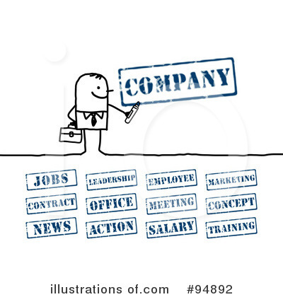 Business Clipart #94892 by NL shop