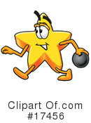 Royalty-Free (RF) Star Character Clipart Illustration #17456