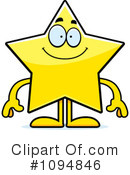 Royalty-Free (RF) Star Clipart Illustration #1094846