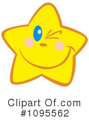 Royalty-Free (RF) Star Clipart Illustration #1095562