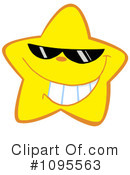 Royalty-Free (RF) Star Clipart Illustration #1095563
