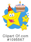 Royalty-Free (RF) Star Clipart Illustration #1095567