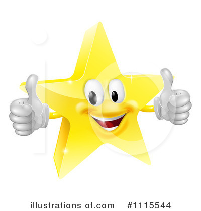 Star Clipart #1115544 by AtStockIllustration