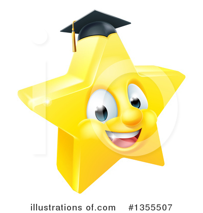 Graduation Clipart #1355507 by AtStockIllustration