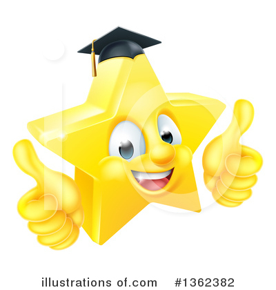 Graduate Clipart #1362382 by AtStockIllustration