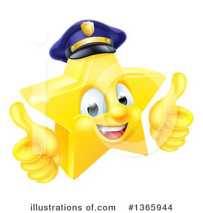Police Officer Clipart #1365944 by AtStockIllustration