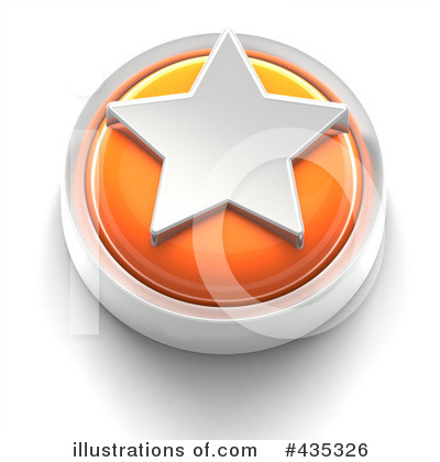 Royalty-Free (RF) Star Clipart Illustration by Tonis Pan - Stock Sample #435326
