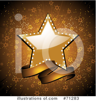 Royalty-Free (RF) Star Clipart Illustration by Elaine Barker - Stock Sample #71283