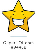 Royalty-Free (RF) Star Clipart Illustration #94402