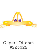 Royalty-Free (RF) Star Mascot Clipart Illustration #226322