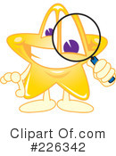 Star Mascot Clipart #226342 by Toons4Biz