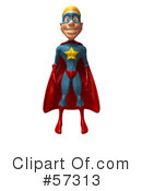 Star Superhero Character Clipart #57313 by Julos