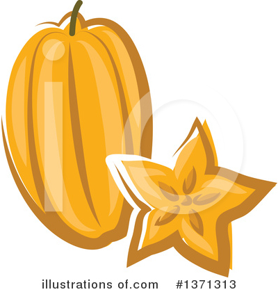 Produce Clipart #1371313 by Vector Tradition SM