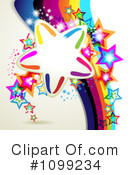 Stars Clipart #1099234 by merlinul