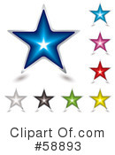 Stars Clipart #58893 by michaeltravers