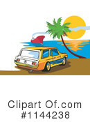 Royalty-Free (RF) Station Wagon Clipart Illustration #1144238