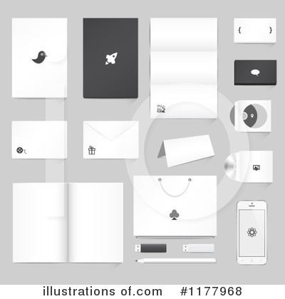 Business Card Clipart #1177968 by vectorace