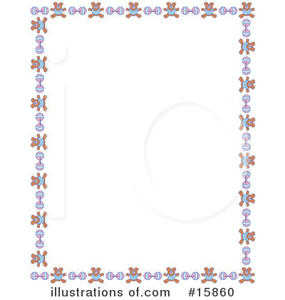 Royalty-Free (RF) Stationery Clipart Illustration by Andy Nortnik - Stock Sample #15860