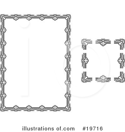 Frame Clipart #19716 by AtStockIllustration