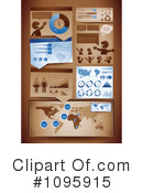 Royalty-Free (RF) Statistics Clipart Illustration #1095915