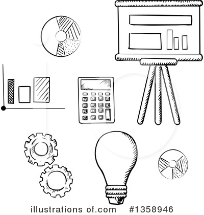 Light Bulb Clipart #1358946 by Vector Tradition SM