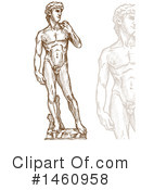 Statue Clipart #1460958 by Domenico Condello