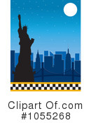 Statue Of Liberty Clipart #1055268 by Maria Bell