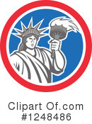 Statue Of Liberty Clipart #1248486 by patrimonio