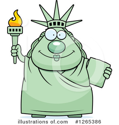 Statue Of Liberty Clipart #1265386 by Cory Thoman