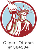 Statue Of Liberty Clipart #1384384