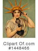 Statue Of Liberty Clipart #1448466