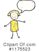 Stck Girl Clipart #1175523 by lineartestpilot