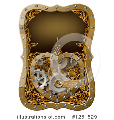 Royalty-Free (RF) Steampunk Clipart Illustration by AtStockIllustration - Stock Sample #1251529