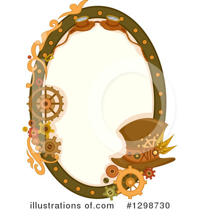 Royalty-Free (RF) Steampunk Clipart Illustration by BNP Design Studio - Stock Sample #1298730