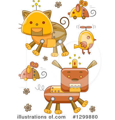 Mouse Clipart #1299880 by BNP Design Studio