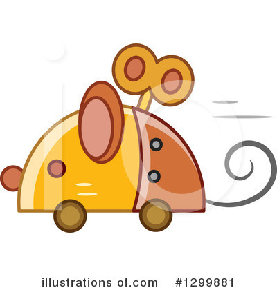 Mouse Clipart #1299881 by BNP Design Studio