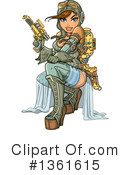 Royalty-Free (RF) Steampunk Clipart Illustration #1361615