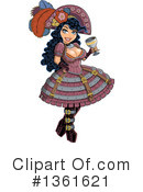 Royalty-Free (RF) Steampunk Clipart Illustration #1361621