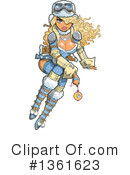 Royalty-Free (RF) Steampunk Clipart Illustration #1361623