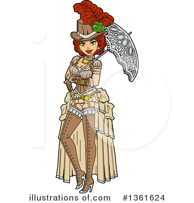 Royalty-Free (RF) Steampunk Clipart Illustration by Clip Art Mascots - Stock Sample #1361624