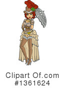 Royalty-Free (RF) Steampunk Clipart Illustration #1361624