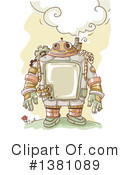 Royalty-Free (RF) Steampunk Clipart Illustration #1381089