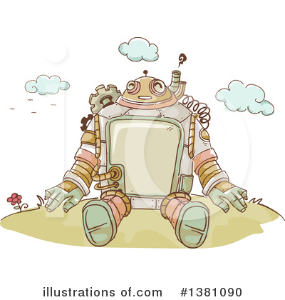 Robot Clipart #1381090 by BNP Design Studio