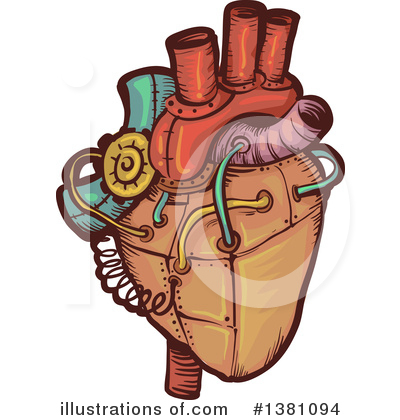 Heart Clipart #1381094 by BNP Design Studio