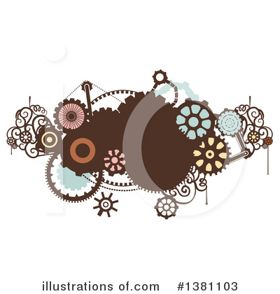 Royalty-Free (RF) Steampunk Clipart Illustration by BNP Design Studio - Stock Sample #1381103